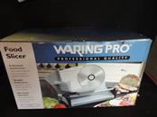 Waring Pro FS150 Food Meat Slicer FS-150 Metal - BRAND NEW